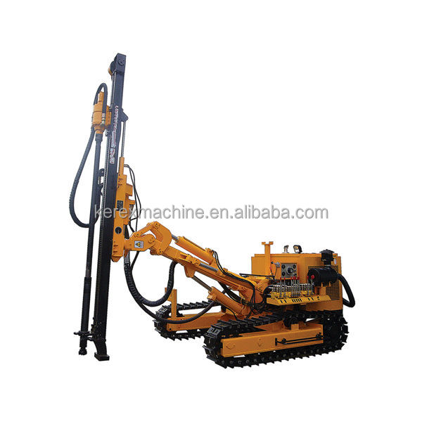 25m depth used rock drilling machine HC726A