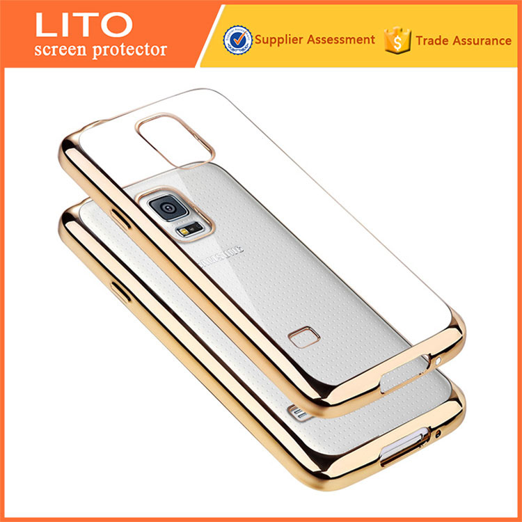 Alibaba Wholesale Electroplating Mobile phone back cover for samsung galaxy s5