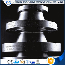 China manufacturer wholesale raised face weld neck flange dimensions