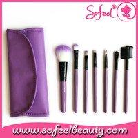 Sofeel amazing price 7pcs traveling make-up brush sets wholesale