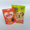 maxican hole pet dog biscuit clear window stand up plastic package bag