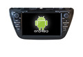 Quad core!car dvd with mirror link/DVR/TPMS/OBD2 for 8 inch touch screen quad core 4.4 Android system SUZUKI SX4 2014