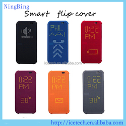 For HTC one m9 case,smart flip cover for HTC m9,intelligent dot view case for HTC m9