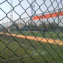 Chinese Supplier rhombic diamond wire fence/High Quality Hot Dip Galvanized Chain Link Fence/Diamond Wire Netting