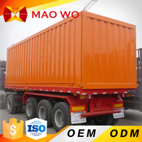China leading brand new design self loading 40ft container semi trailer