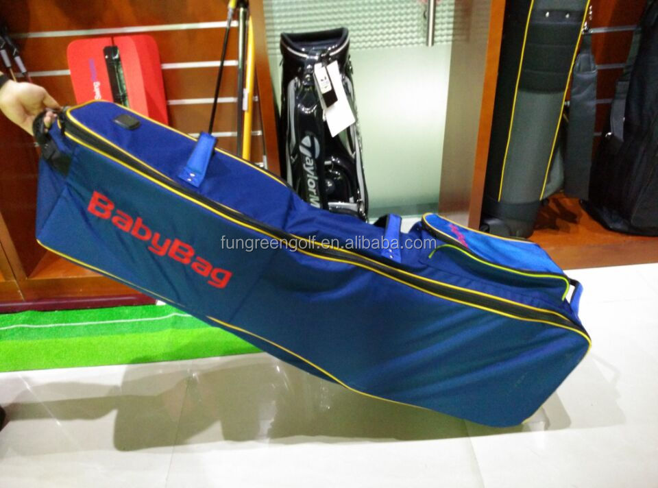 wholesale Custom Logo Travel golf bag cover with wheels in golf stand bag
