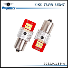2017 new product GS canbus 10V 16V 1156 BA15S turn singal led 2835 smd Light