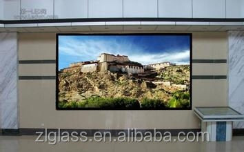 outdoor/indoor tempered led screen for advertising/computer/AR glass