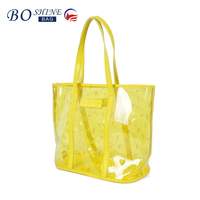 2016 popular plastic PVC handbag for ladies manufacturer china