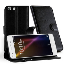 Leather case for alcatel one touch x1,flip case cover for Alcatel x1,mobile phone spare parts for alcatel 7053D
