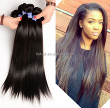 8A grade brazilian human hair weaving top quality silky straight virgin brazilian hair extensions free sample free