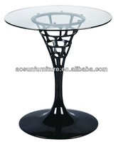 temper glass cafe table/Glass coffee table