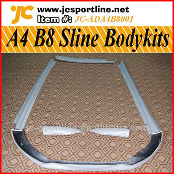 a4 b8 sline body kit for audi a4 b8 buy body kit for. Black Bedroom Furniture Sets. Home Design Ideas