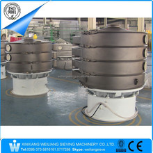 Weiilang sand blasting rotary vibrating sifter screening and separation machine