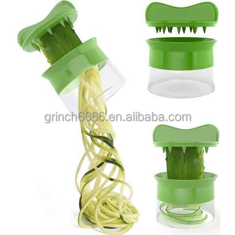 Hand Held Spiralizer Spiral Veggies slicer Fruit Vegetable Spiral Cutter