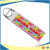 Custom Fancy sublimation embroidered key fob keychain key rings