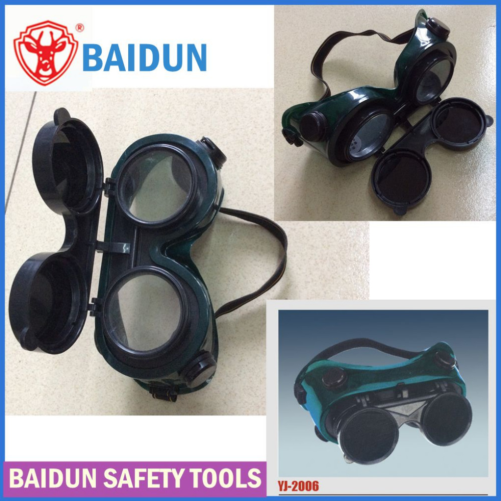 industrial welding safety goggle / round PVC construction gogle/ glasses