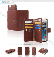 Leather holster for Iphone 6 fancy phone case with card hold