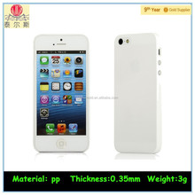 Popular Universal For Apple Iphone 5s Case Ultra Thin 0.35mm Design