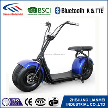 hot sell new design two wheel electric motorcycle city coco,1000w big wheel electric scooter city coco for adults 350W