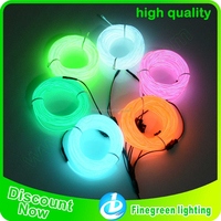 Super bright christmas tree decorate welt el wire/welt wire