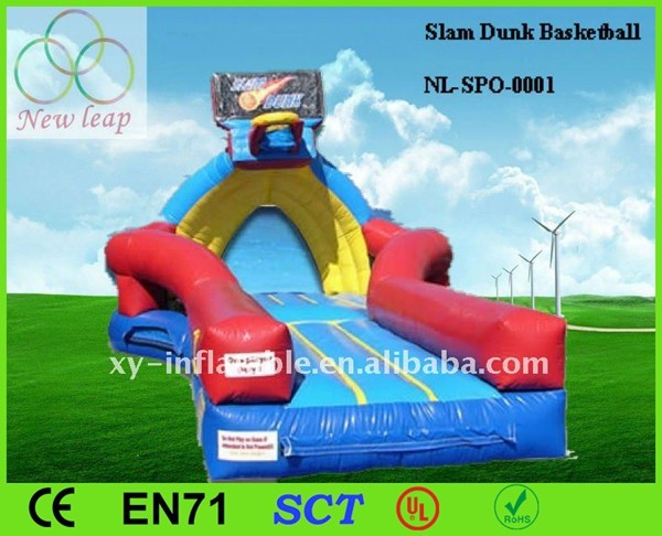 0.55mm PVC Inflatable Sports(Slam Dunk Basketball)