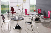 A8039 Modern table and chair furniture buffet