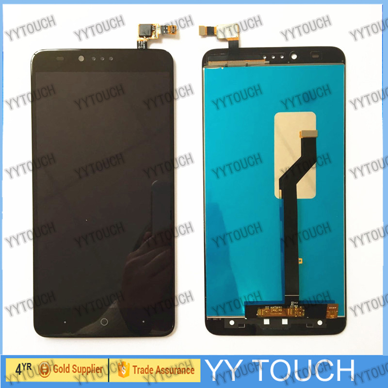 LCD+TP For ZTE ZMax Pro Z981 LCD Display with Touch Screen Digitizer Smartphone Replacement for zte z981 lcd