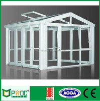 Modern style Used Tempered Glass Aluminium Sunroom/Greenhouse/Winter Garden For Sale