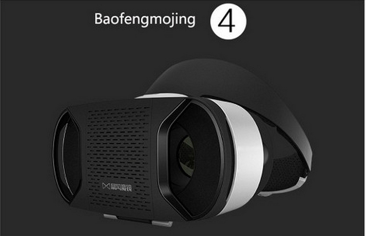 New Arrival Baofeng Mojing 4 Virtual Reality 3D Glasses VR Glasses Fit IOS/Andriod Smartphones HD Film Bluetooth Control Gamepad
