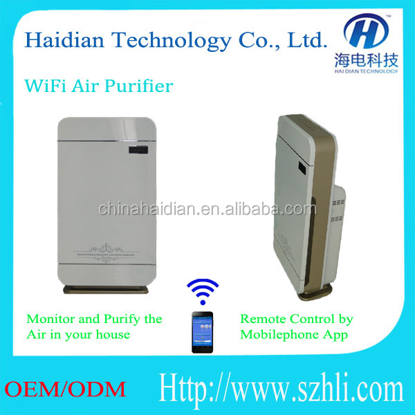 Brand new intelligent automatic remote wifi control air cleaner