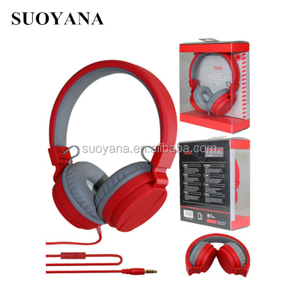 Custom high quality headphones BSCI and SEDEX factory make metal earmuff headphones with good bass