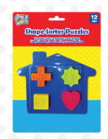 Shape Sorter Puzzles Train