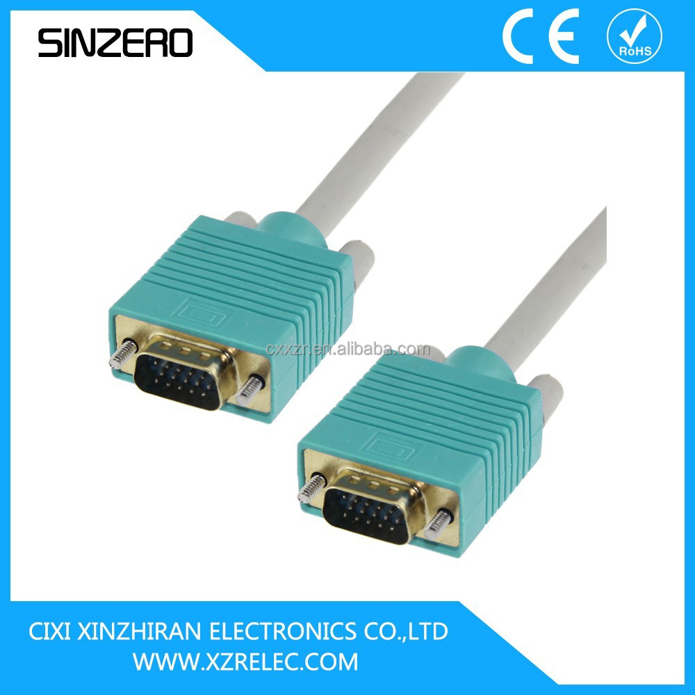 vga ribbon cable/vga monitor cable/vga cable length limit