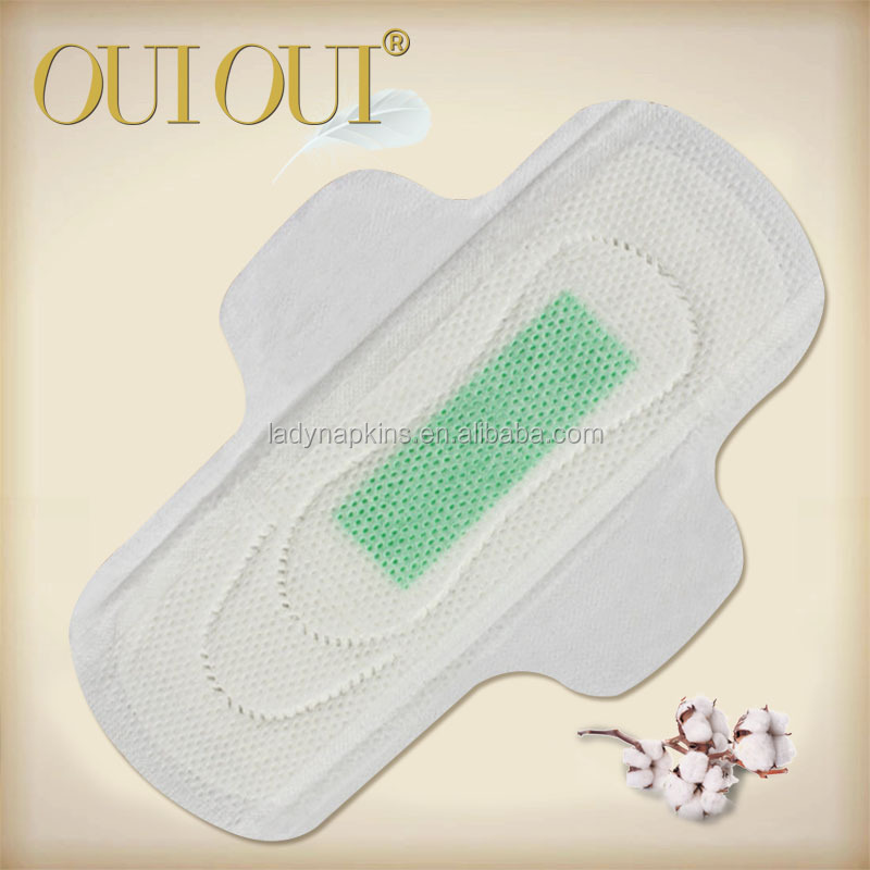 OUIOUI high-end sanitary napkins with bamboo charcoal