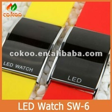 led time show mute watch SW-6