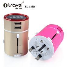 Newest business travel items travel plug adapter personalized gifts