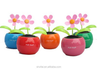 Car Decoration Flip Flap Solar Powered Flower Toy For Wholesale