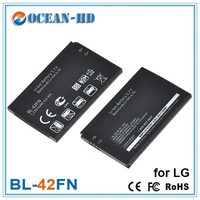 Long Life Flat Li Polymer Battery Charge Phone BL-42FN for Optimus ME P350 Chat C550