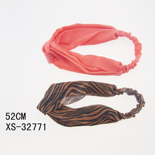 New Arrival Hair Accessories Women Fabric Head Band Knot Head Wrap For Girls and Women