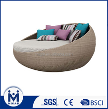Hot selling rattan round sofa for garden