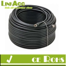 LINKACC1r BoostWaves Rg6 Coaxial Cable for Tv Satellite Cable BLACK HDTV Low Loss