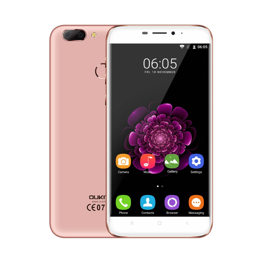 2017 Hitech OUKITEL U20 Plus 4G Smart Phone 5.5inch IPS 1080*1920px MTK6737T Quad-Core 2GB +16GB Mobile phone
