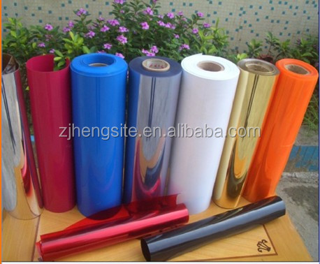 binding covers transparent rigid PVC sheet