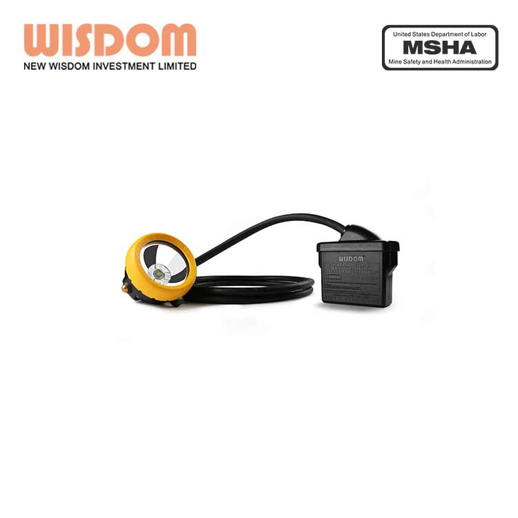 Wisdom KL5M miners lamp carbide with MSHA