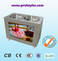 Factory price R22/R404A best comperssor roll fry ice cream machine