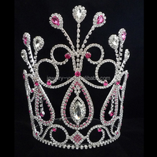 new colored flower tiara for summer pageant crown