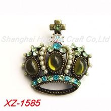 XZ-1585 Factory sale fashionable skull brooch from manufacturer