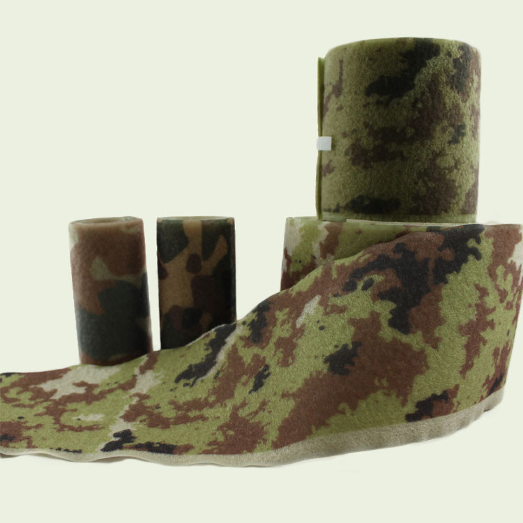 Soldiers clothing military disruptive pattern hook and loop tape