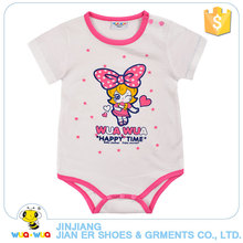 Breathable Hot Sale plain Newborn Baby Cotton Rompers kids Wholesale bodysuit And Jumpsuit